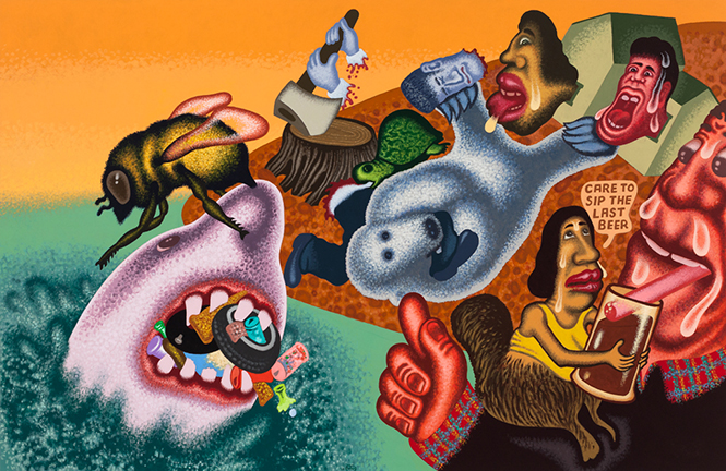 Peter Saul on HYPERALLERGIC.COM