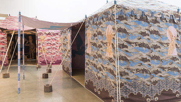 Francesco Clemente Two Tents