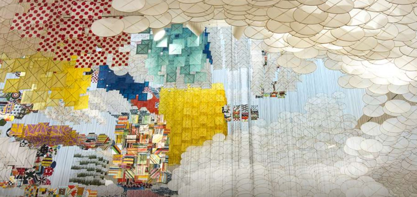 Jacob Hashimoto at Wäinö Aaltonen Museum of Art