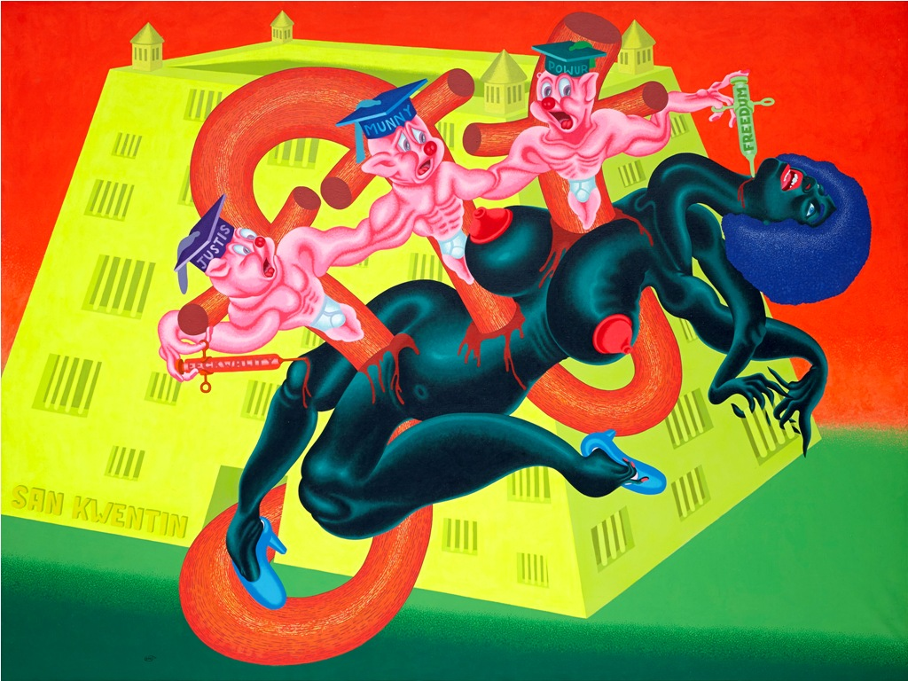 Peter Saul at Deichtorhallen Hamburg