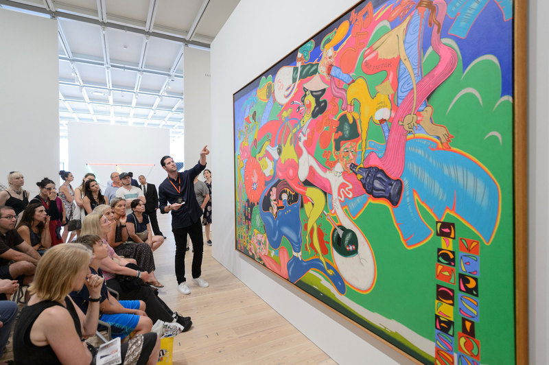 Peter Saul at the Whitney Museum of American Art