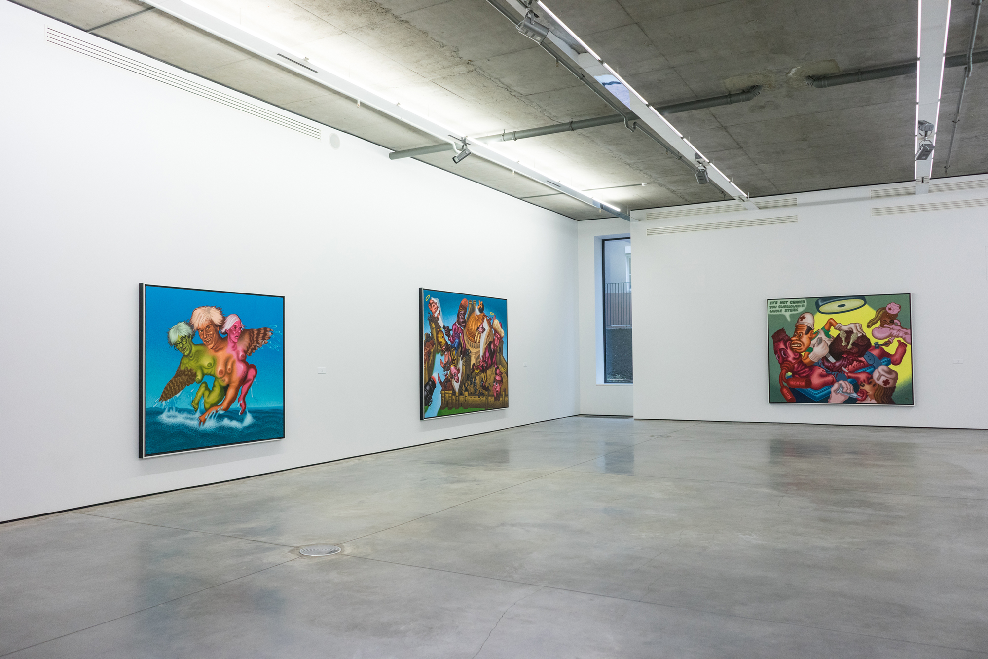 Peter Saul at Gary Tatintsian Gallery