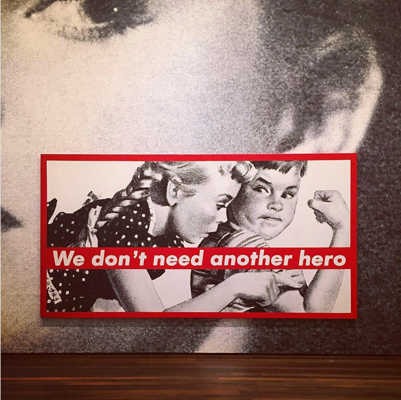 Barbara Kruger at the National Gallery of Art