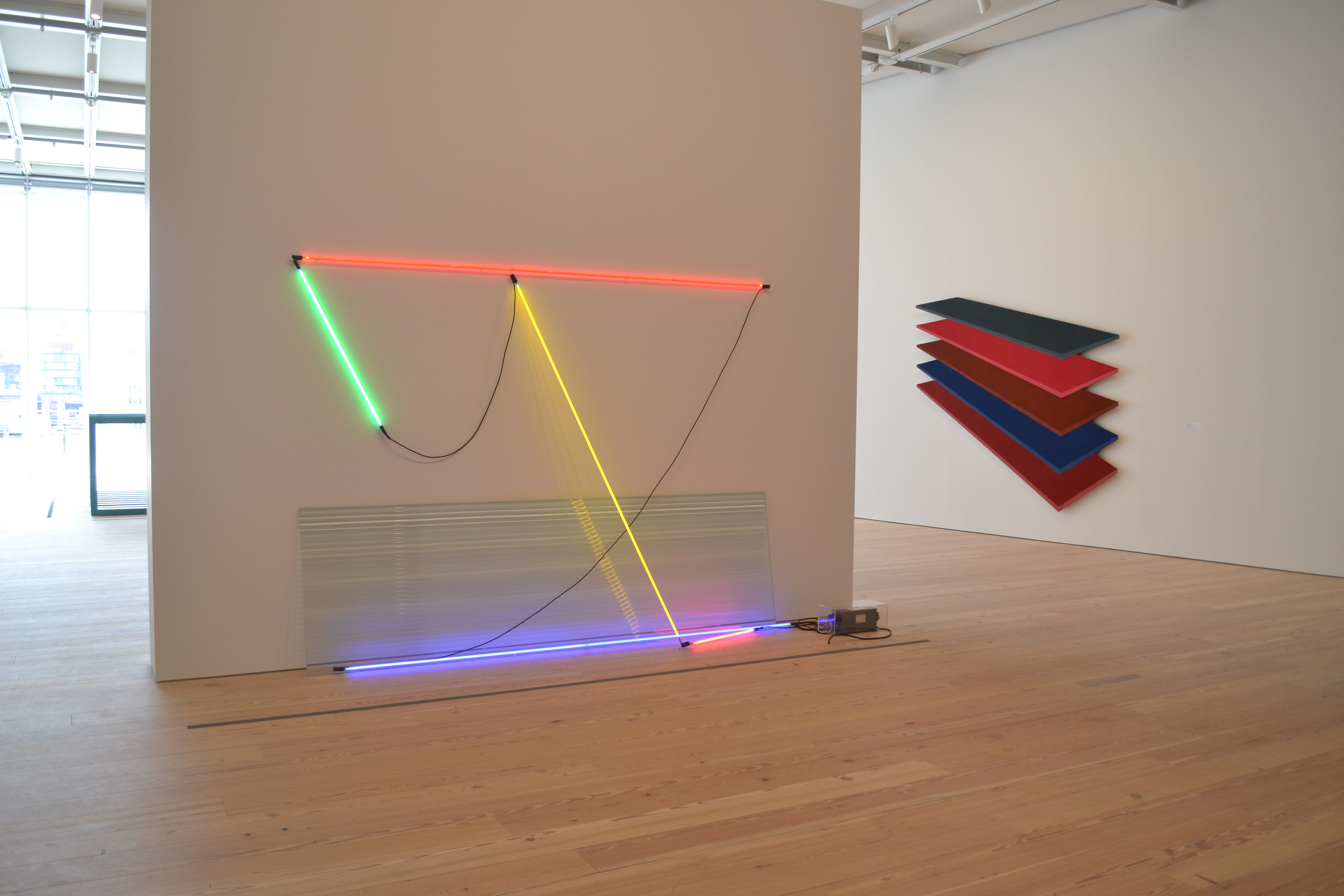 Keith Sonnier at the Whitney Museum of American Art