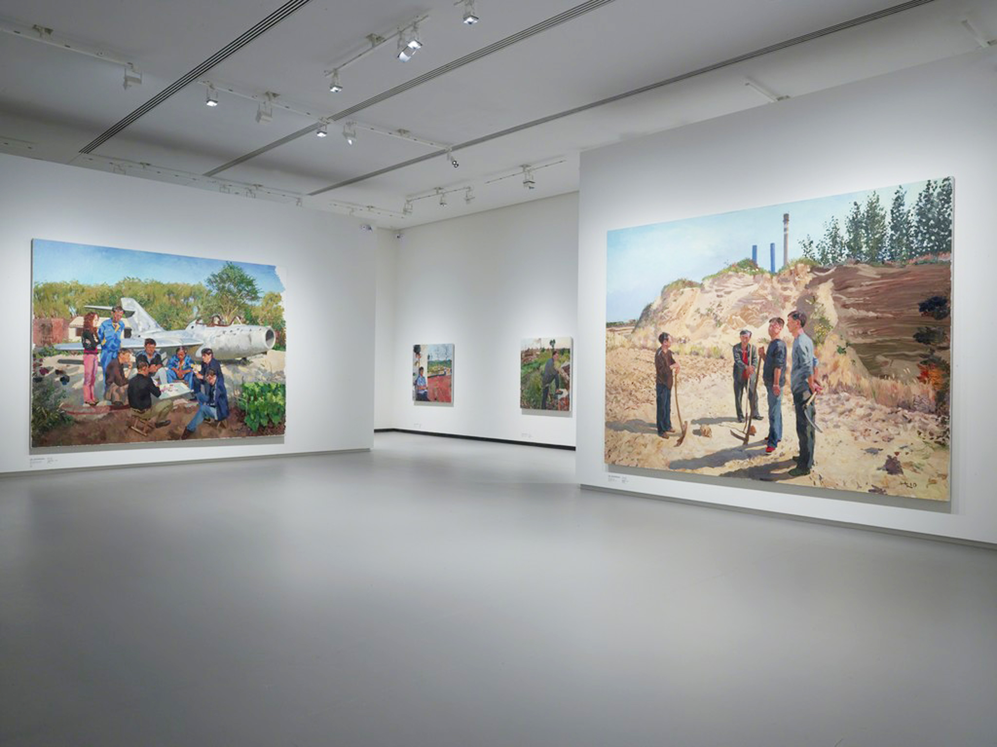 Liu Xiaodong at Fondation Louis Vuitton