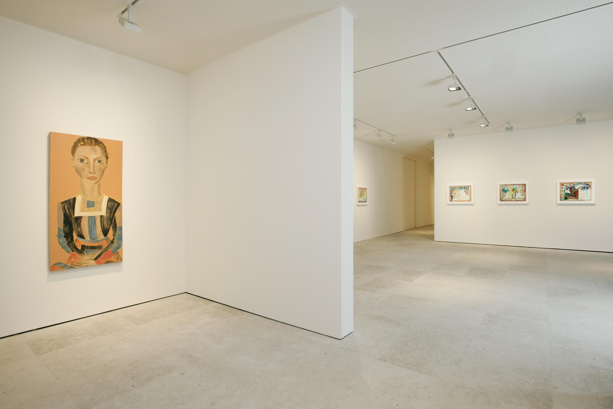 Francesco Clemente at Jablonka Maruani Mercier Gallery