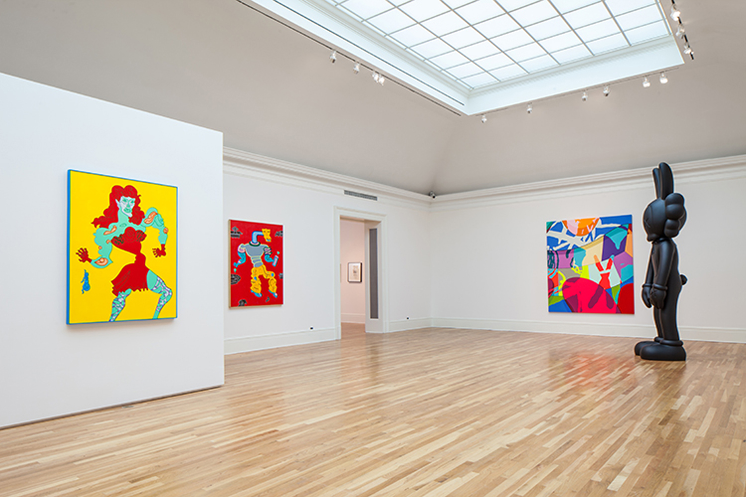 KAWS at the Newcomb Art Museum