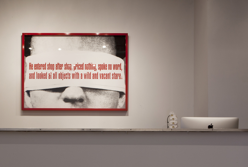 Jacob Hashimoto, Barbara Kruger at Rhona Hoffman Gallery