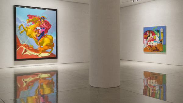 Peter Saul Paintings from the 60s and 70s