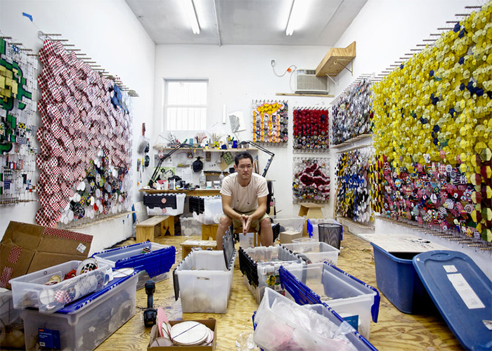 Jacob Hashimoto in The New York Times's T Magazine