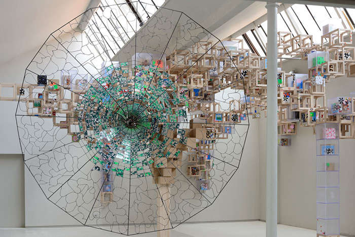 Jacob Hashimoto at Studio La Città