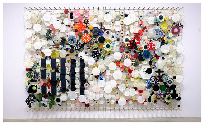 Jacob Hashimoto at the Pizzuti Collection
