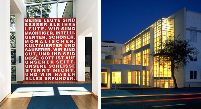 Barbara Kruger at Museum Angewandte Kunst