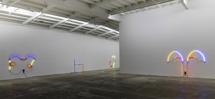 Keith Sonnier at Maccarone