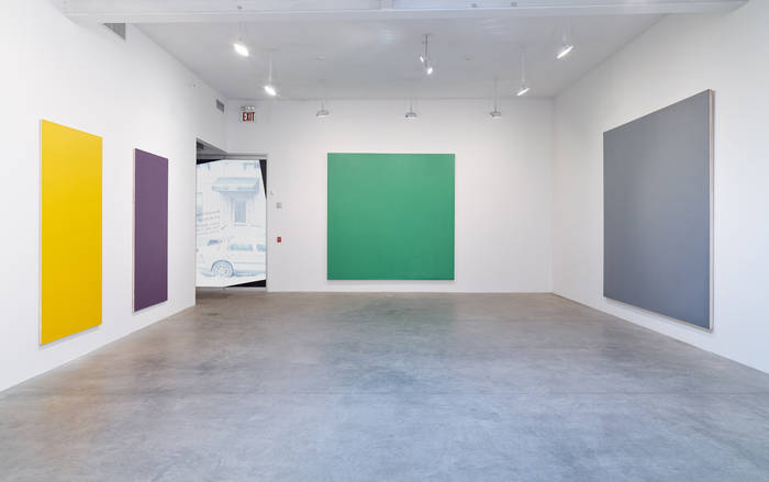 Olivier Mosset at Koenig & Clinton