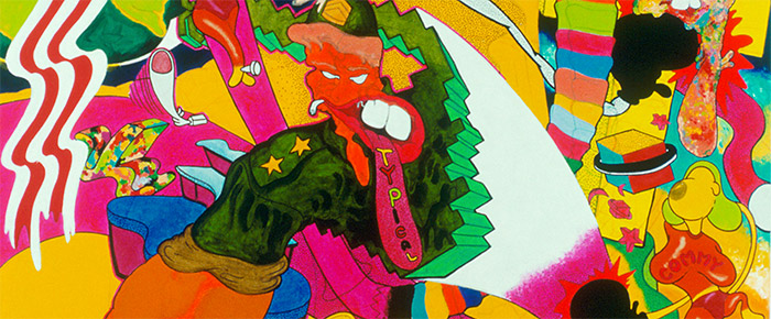 Peter Saul in Tablet Magazine