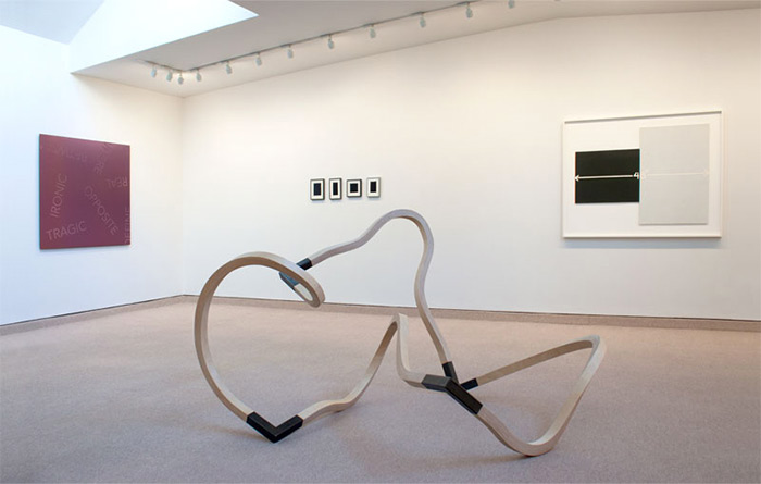 Robert Barry at Barbara Krakow Gallery