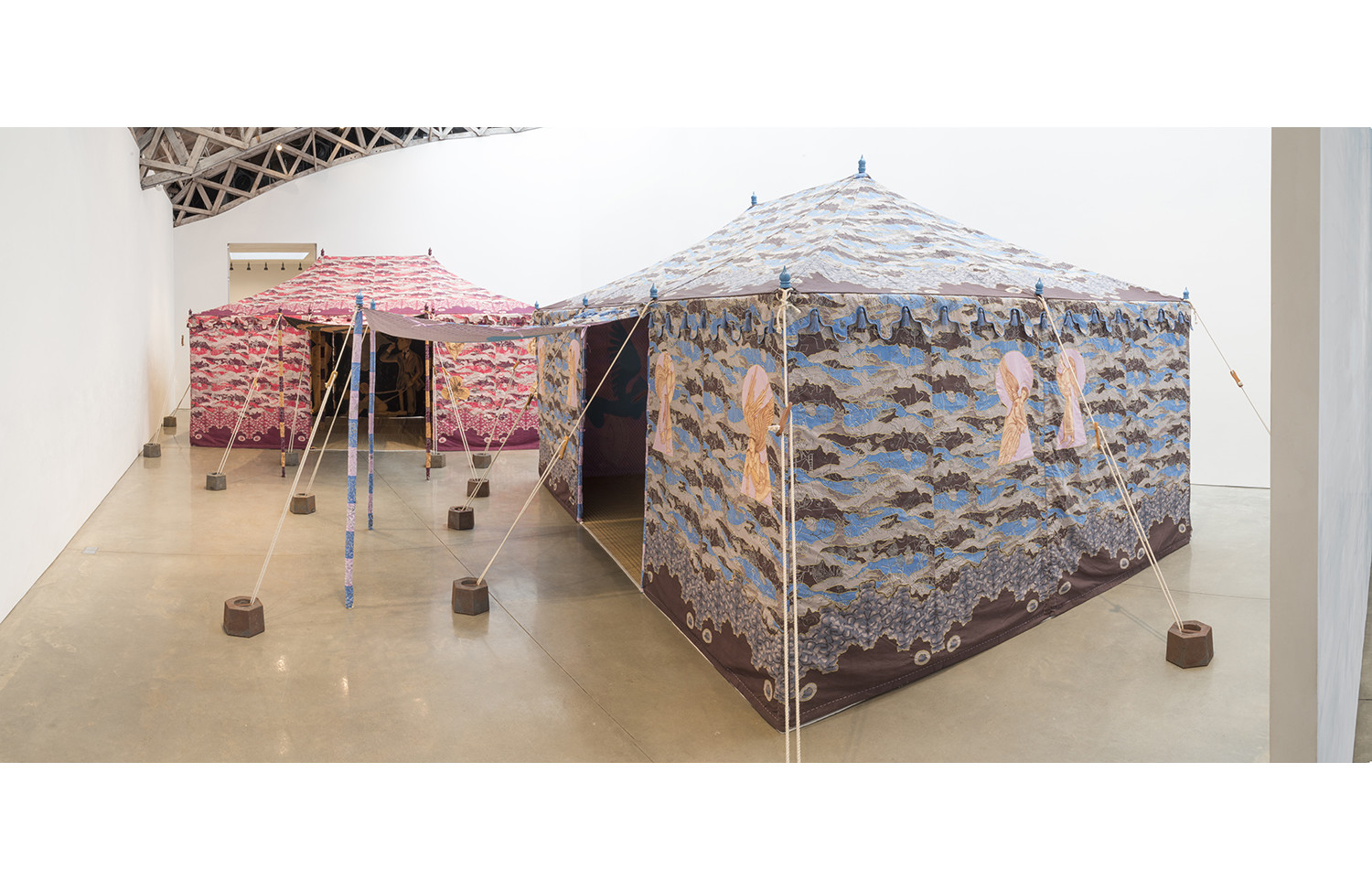 Francesco Clemente Devil's Tent - View 2