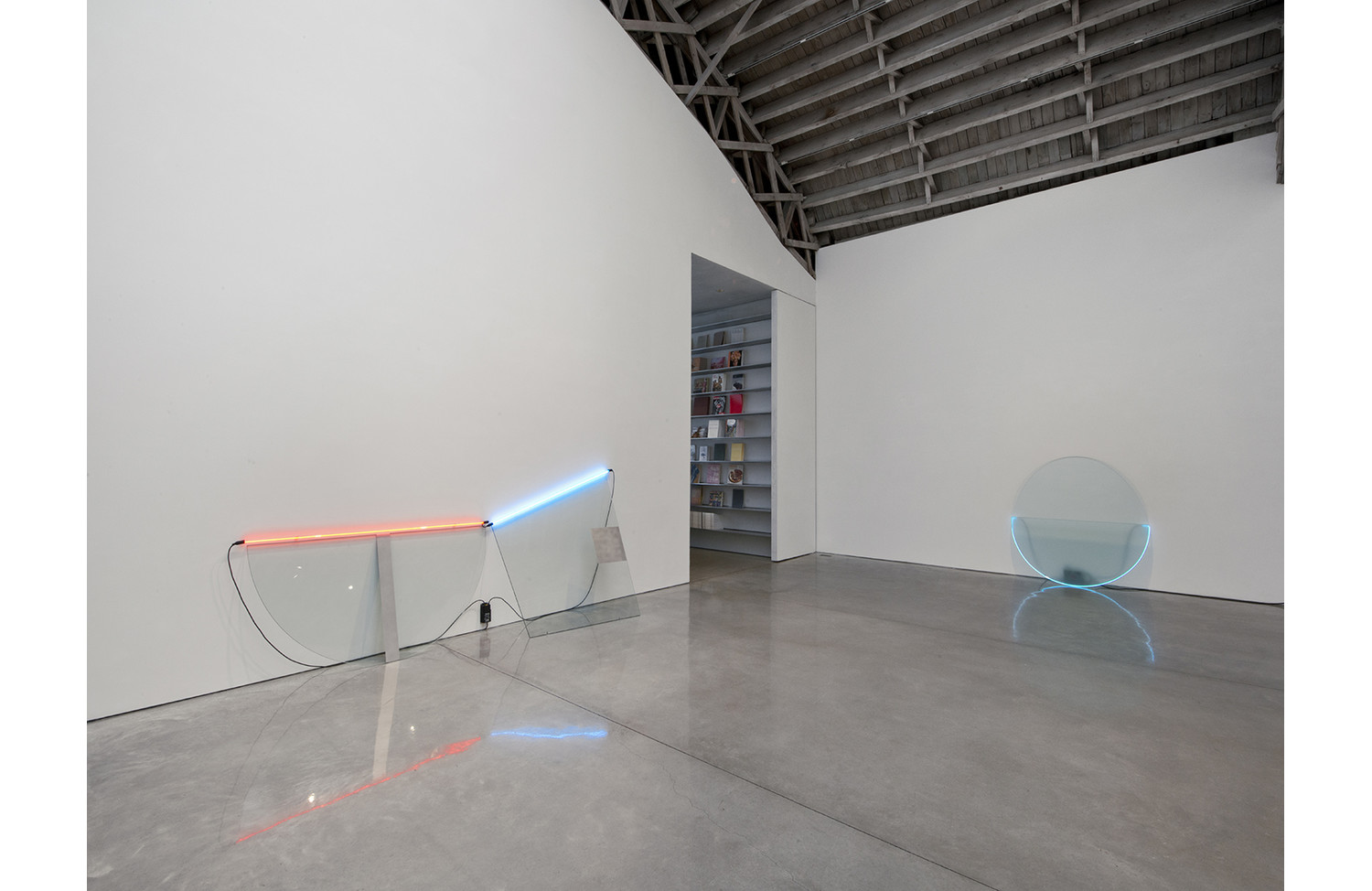 Keith Sonnier Neon Wall Slant - View 3