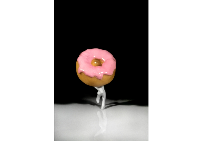 Laurie Simmons Walking Doughnut