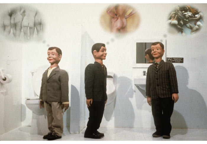 Laurie Simmons Café of the Inner Mind: Men's Room