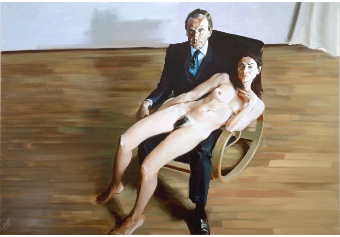 Eric Fischl Simon and Anh