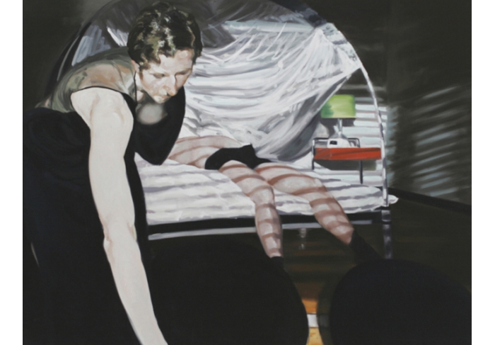 Eric Fischl Bedroom Scene #3 (Mistakes Mistakes! Everything Shakes From all the Mistakes)