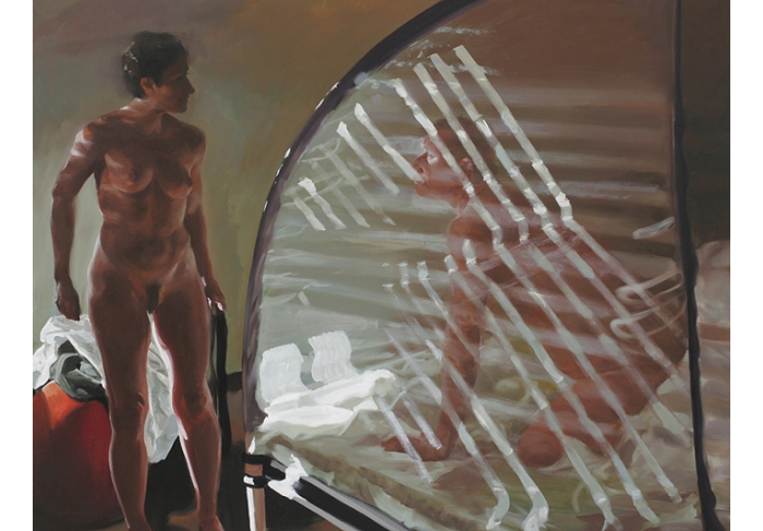 Eric Fischl Bedroom Scene #2 (They Were Facing Each Other When the Rock Crushed Them)