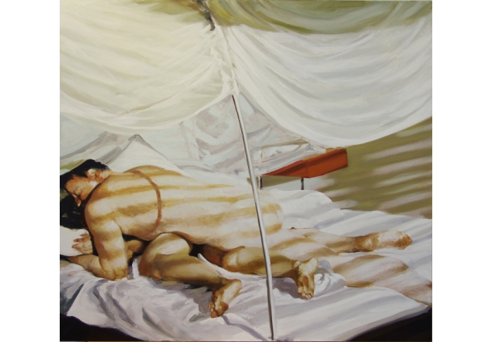 Eric Fischl Bedroom Scene #5 (The Earth Rolls Over You)