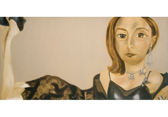Francesco Clemente Portrait of Shelley Aarons