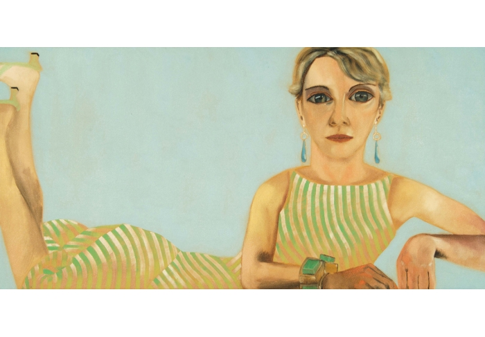 Francesco Clemente Portrait of Jean McCusker
