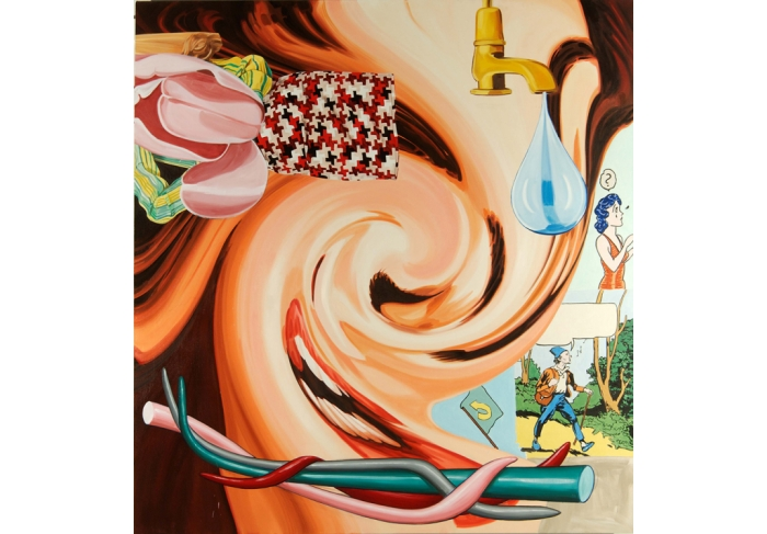 David Salle The Inside