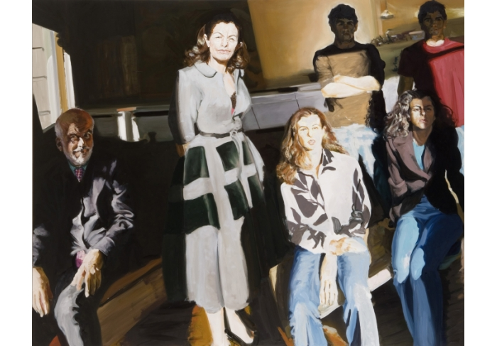 Eric Fischl The Clemente Family