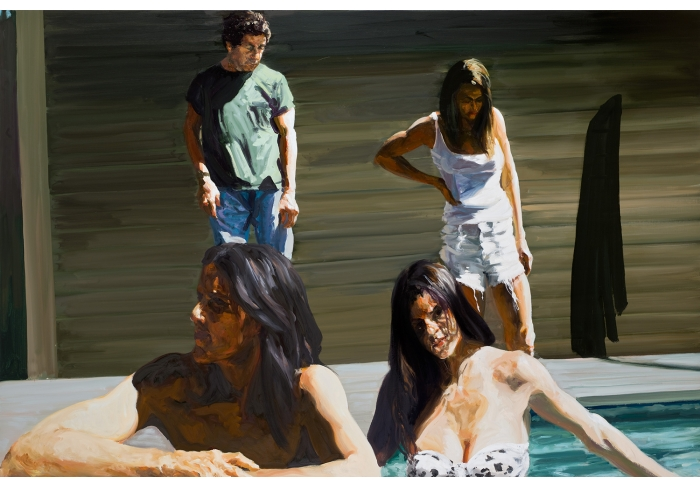 Eric Fischl The Prices: Richard, Judy, Annie, and Gen