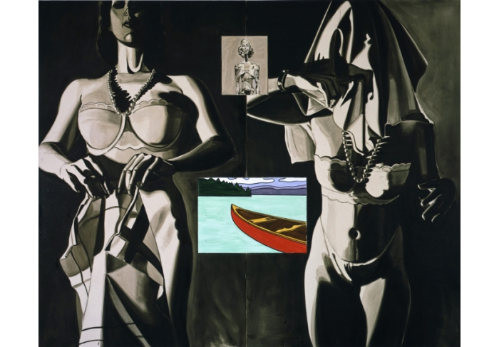 David Salle Time is a Frame