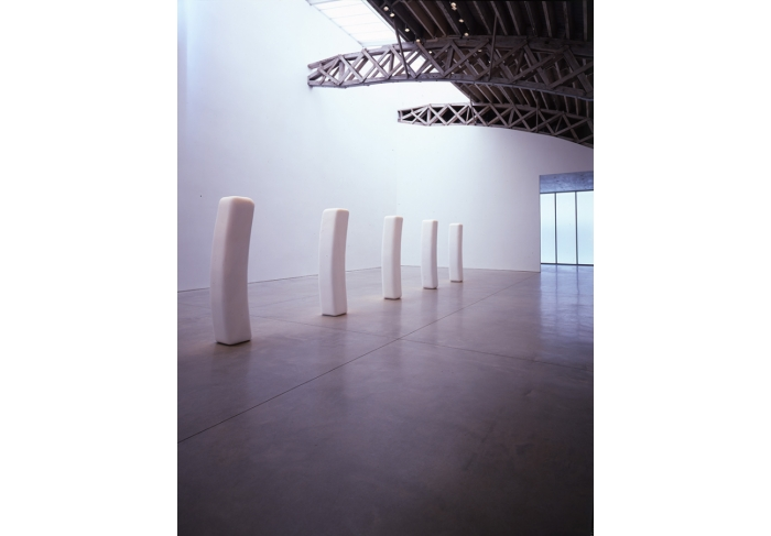 James Lee Byars Concave Figure